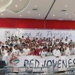 La Red en Unidad con @Sandro_gomezv ayer en la Toma de Protesta de la JT, la red más grande de México! #Veracruz http://t.co/CcgtYog4pJ