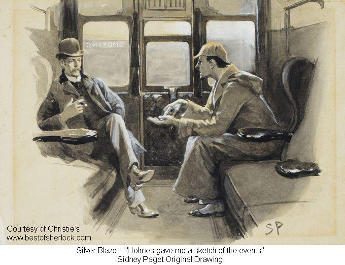 Sidney Paget, great artist of Sherlock Holmes for the Strand Magazine, born #OTD in 1860. http://t.co/E76XhfYcGZ http://t.co/IQRDYjY24A