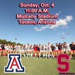 Its #MatchDay! No. 17 Arizona takes on No. 5 Stanford on the @Pac12Networks today! #BearDown #BuildingALegacy http://t.co/Wv9vYUtX9Z