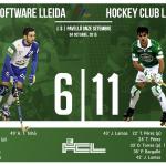 Partidazo. @ICGLleidaLlista 6-11 @HockeyclubLICEO. Goles: Josep (x3), Pau (x2), Toni (x2), Uri (x2), Jordi y Dava. http://t.co/LIkhjAmKVC