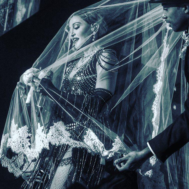 I was the bride married to amazement! Atlantic City❤️ #rebelheartour http://t.co/weQzI9hYpE