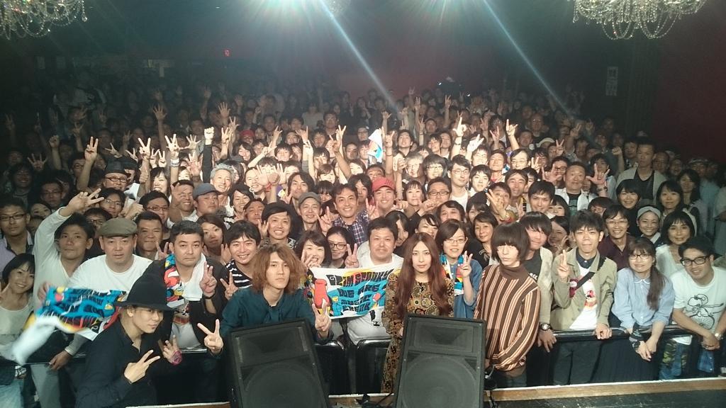 大阪ありがとー!初ワンマンたのしかったよー! http://t.co/Qt0uljjE98