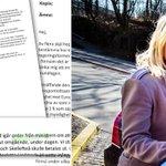 """Tjänstemän på Trafikverket skriver att de fått """"order"""" från minister, vilket vore olagligt. http://t.co/bo5sKMtSdc http://t.co/eF5qoz8Jab"""