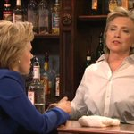Hillary Clinton counseled Hillary on SNL last night. Our writeup: http://t.co/jZyiasafUF by @laurameckler http://t.co/Dha0xzFVVF
