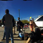 The sun is shining on our @bengals tailgate. @wcpo http://t.co/X7digFCjrh