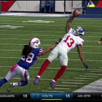 This did not result in a catch, but OMG Odell Beckham is a wizard. http://t.co/8CPOv9iooy