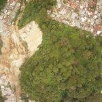 Esta es la dimensión de la zona de la tragedia en El Cambray 2, Santa Catarina Pinula. Foto CONAP http://t.co/knkJCt4oLk