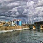 LA River With Storm Clouds #mydayinla #photography #LosAngeles #eastofwestla #River #vernon http://t.co/e6l3x2BaXZ