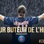 44 @Ibra_official devient le meilleur buteur de lhistoire du @PSG_inside avec 110 buts !!! #PSGOM #Zlatan110 http://t.co/9BAeTtzPg3