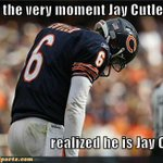 #OAKvsCHI Dear Raiders, C. Woodson was bound to catch A Cutler today & by Cutler I mean INT! #PackersNation http://t.co/5c4oIh9PTz