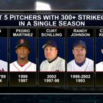Another incredible season from @Dodgers ace @ClaytonKersh22 - 300 Ks. #Game162 #MLBTonight http://t.co/NQNw3sf6Ei