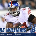 2 point conversion is GOOD! Andre Williams up the middle and the #Giants lead 24-10!!! #NYGvsBUF http://t.co/sTJhqRvaU1