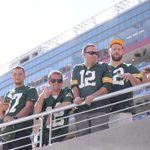 Lots of #Packers fans in the house! #GBvsSF http://t.co/hWn6ljVQ8V