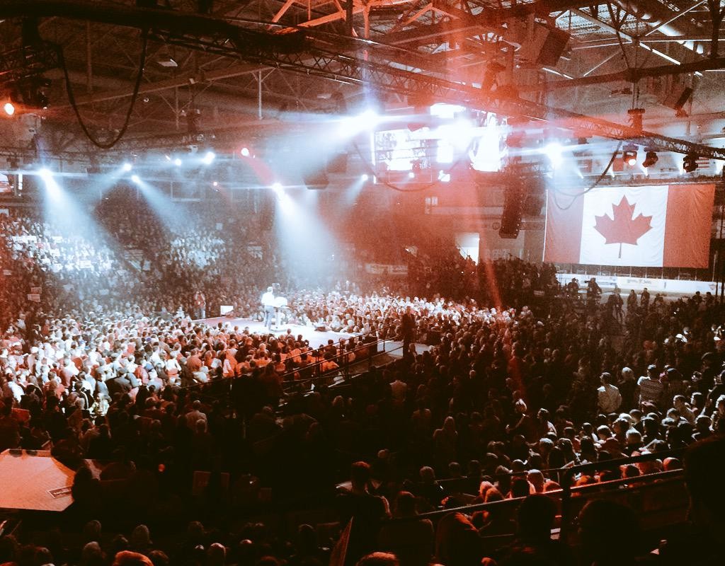 What #RealChangeNow is starting to look like. @JustinTrudeau