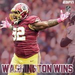 REDSKINS WIN! Washington beats the Eagles 23-20 and moves to 2-2. Eagles fall to 1-3. http://t.co/pg6oJH0c0Y