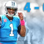 With 37-23 win over Buccaneers, Panthers start 4-0 for first time since 2003. Cam Newton: 11-22, 124 Yds, 2 TD http://t.co/QO3ERg7snq