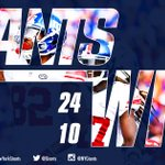 GIANTS WIN!!!! Thats a 24-10 road win for BIG BLUE! Catch full game highlights HERE: http://t.co/5Jqo60fDRm http://t.co/IZXn1s1KRG