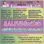 OH: #ALDUBSwitch MAIKLI NA IYAN HA. HAHAHA! :D @aldub_ME @AlDub_ME2 KEEP ON TWEETING MGA ALDUBNATICS! :* LOVENESS! ♡ http://t.co/1SQ4oNk0nX