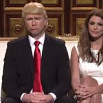 Taran Killam completely nailed his Donald Trump #SNL debut: http://t.co/9YQGPUfisU http://t.co/kh2vezpVOr