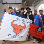 Amazing turn-out for the Gaurs at Fatorda today! Time to TWEET and help @FCGoaOfficial win the battle now! #GOA http://t.co/kWrkxSM00J
