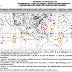 #Boletíntropical No. 126 Huracán #Joaquín categoría 2, disturbios tropicales 90L, 91L, 94E y 95E http://t.co/tdlmF1sp7i