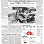 Una vergüenza! Ya llevamos casi 2 años de retraso y ahora sin presupuesto. Hospital de Chillán no tiene por donde !! http://t.co/FCSmaIGdW6