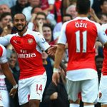 FT: Arsenal 3-0 Manchester United Two goals from Alexis Sanchez and a big win for the Gunners. http://t.co/Hi4WeF1t6E
