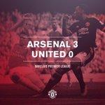 FT: Arsenal 3 United 0. Gol cepat di babak I membawa The Gunners mengalahkan United di kandang mereka. http://t.co/wHJb8Lv6gL