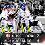AUS-AUS-AUSWÄRTSSIEG! Düsseldorf - Augsburg 2:4 und damit ist das erste 6-Punkte-Wochenende perfekt! #NurDerAEV http://t.co/Y5mQp0QiQg