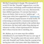 How Twitter and other social networks completely transformed TV. Me in the @nytimes TV issue. http://t.co/44gNlD96uH http://t.co/ZsEPes8hqr