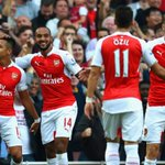 … @Arsenal score three in thrilling display at Emirates Stadium. #AFCvMUFC http://t.co/uNGku3X4QX … http://t.co/nfWMef57gs
