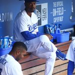 Clayton Kershaw is taken out in the 4th by manager Jimmy Rollins. Hes guest managing today. (via @Dodgers) http://t.co/XEMAFgl1u5