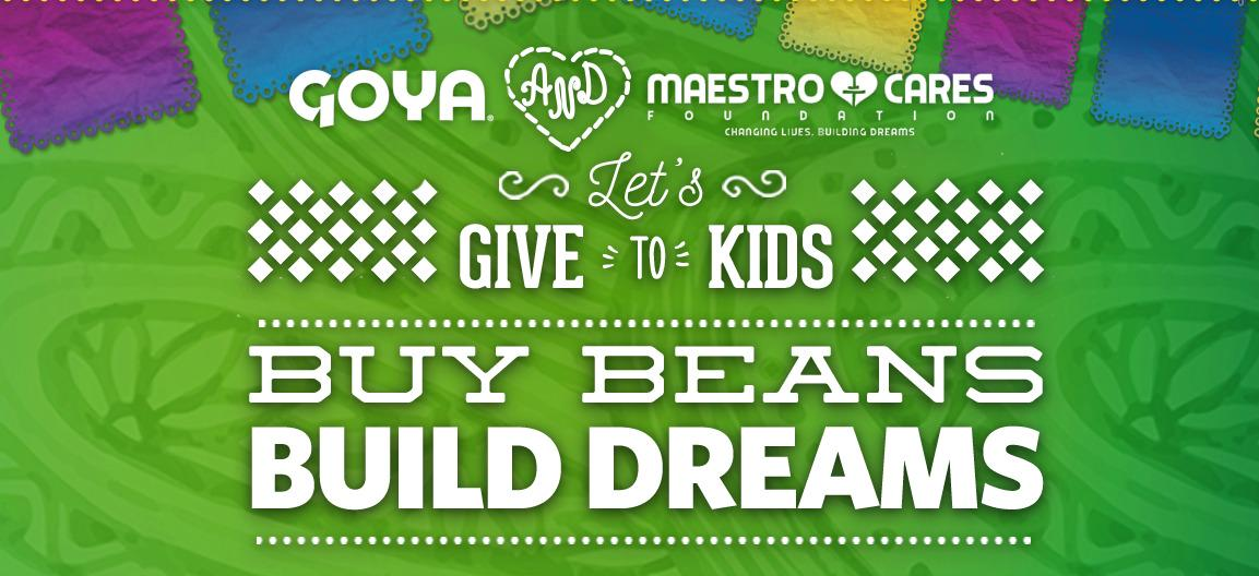 Help @MarcAnthony & @GoyaFoods raise funds to build an orphanage in #Mexico. #Letsgivetokids http://t.co/b8nYYT3Q41 http://t.co/kOo4N23LOl