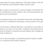 Liverpool statement on Brendan Rodgerss sacking. http://t.co/YpUTUBopVQ #LFC http://t.co/Nng3k0PIKW