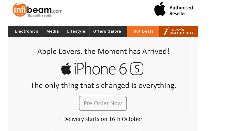 Apple iPhone 6s listed on @infibeam http://t.co/wE13CL5mtD http://t.co/DzDfLFyxGc