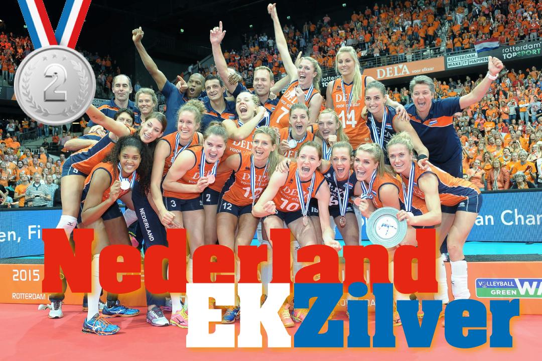 EK ZILVER it is! GEFELICITEERD @volleybaldames! #EuroVolleyW #voorelkaar http://t.co/MAzpiKcKVT