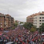 #LigaEspañola | Aficionados rumbo al estadio Vicente Calderón para el juego Atlético-Real Madrid. Vía @Atleti http://t.co/AekvXLd3ra