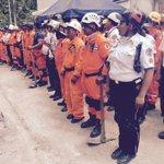 Mientras un contingente de #CVB labora en Cambray otro espera turno http://t.co/bDJ2t9AEFe