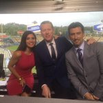 Final pregame of 2015 with 2 of my faves, @Nomar5 & @OrelHershiser. Such a pleasure to work with them. #Dodgers http://t.co/AejPGF0BAB