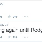 133 days ago: Liverpool fan says he won't Tweet again until Rodgers is sacked Today: Tweets http://t.co/Vm2UJuvhC5 http://t.co/cA8faVOV8a
