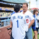 Dr. @kenjeong and Ron Cey. http://t.co/wYWkdyNP9O