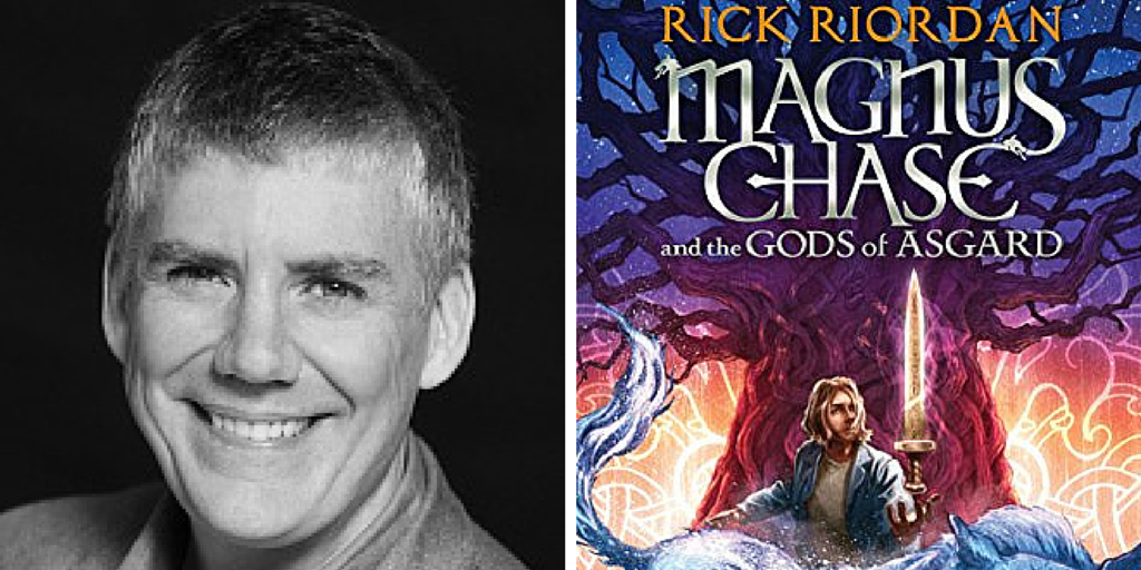 Mon at 7pm @camphalfblood presents THE SWORD OF SUMMER, book 1 of the new #MagnusChase series http://t.co/FQwdahvvk3 http://t.co/AVSnTyKv9C