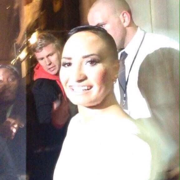 Demi looks like one of those potatoes you forget about in your cupboard that starts sprouting hairs http://t.co/fwVCCv7lAk