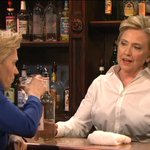 Hillary Clinton plays a sage bartender who tolerates Hillary Clinton's drunk complaining http://t.co/iNmJEUNkV3 http://t.co/IK8EaIx3KM