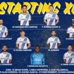 #LAGalaxy XI: Ricketts; DLG, Gonzalez, Leo, Rogers; Zardes, Juninho, Gerrard, Lletget; Keane, Dos Santos #SEAvLA http://t.co/Kzzys22KUQ