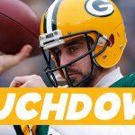 #GBvsSF #Packers #GoPackGo TOUCHDOWN RODGERS TO RODGERS! @AaronRodgers12 is a BOSS running around the POCKET! http://t.co/iSdDsTjg44