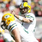 A. Rodgers-R. Rodgers TD pass, with amazing ARod footwork beforehand. #Packers 7, 49ers 0. http://t.co/ag2DZl7SnI http://t.co/0lc66f1YQb