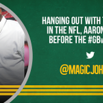 Two of the best at their crafts. #GBvsSF http://t.co/rnP5FRa4qV