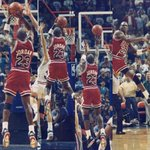 @taylorotwell LBJ would have missed this shot. 🐐 RT @chicagobulls: 23 days until #Bulls opening night. http://t.co/Wus0HqnzHF