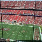 Red alert to bipartisan crowd: second half has started #49ers #Packers http://t.co/sGOuWWPa0h